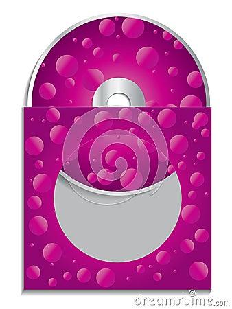 Pink cd sleeve