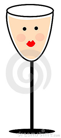 Pink Champagne Clip Art