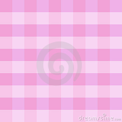 Pink checkered cloth