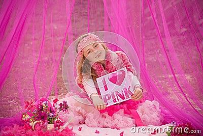 Pink child