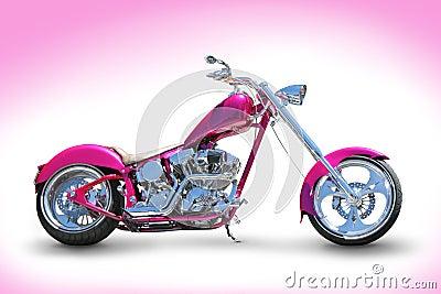 Pink chopper