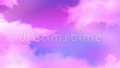 Pink clouds 01. Looped pink clouds for motion video background stock video
