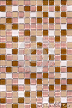Pink Coffee Mosaic