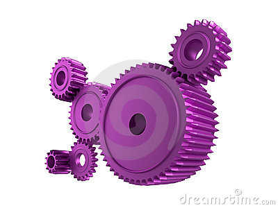 Pink cogs