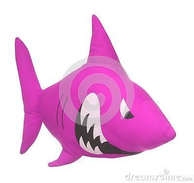 Free Pink Color Shark. Stock Images - 129193474