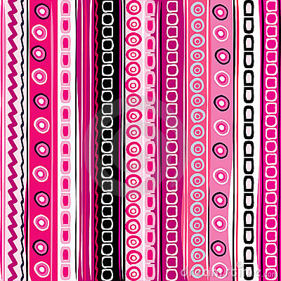Pink color striped funny background