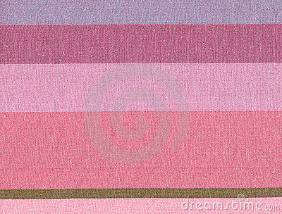 Pink cotton lined background.