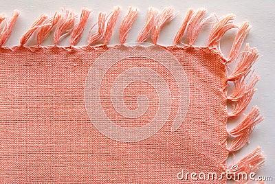 Pink cotton napkin