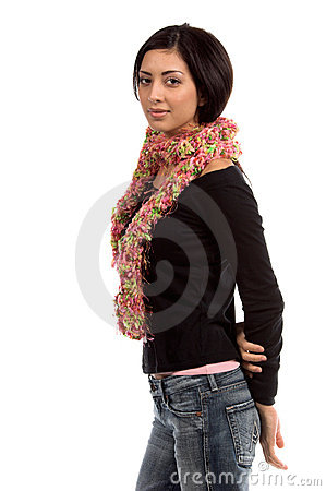 Pink Couture Scarf