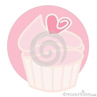 Pink Cupcake