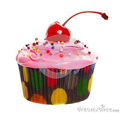Free Pink Cupcake Stock Images - 8091464