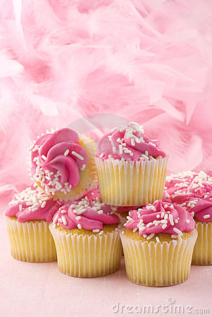 Pink Cupcakes Breast Cancer Awareness