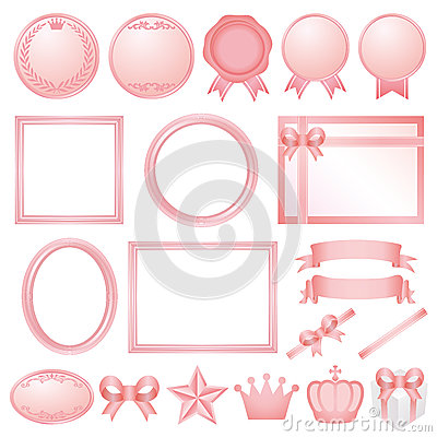 Free Pink Decorations. Royalty Free Stock Photos - 30285218