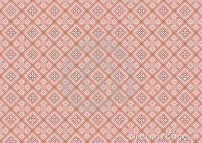 Pink Diamond Shaped Pattern