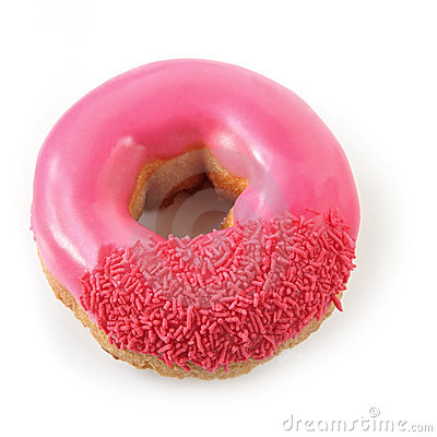 Free Pink Donut Royalty Free Stock Photo - 8859635