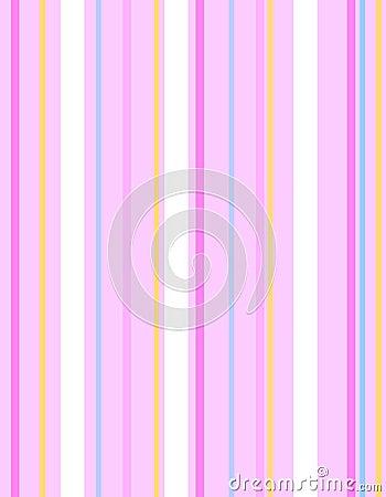 Pink Easter Stripes Pattern Background