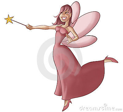 The pink fairy