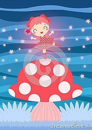 Free Pink Fairy Stock Photos - 24662873