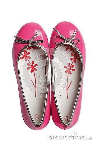 Pink fashion glomour shoes