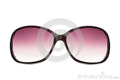 Pink female sunglasses