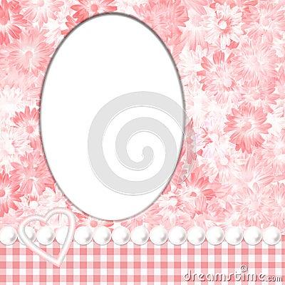 Pink Feminine Frame