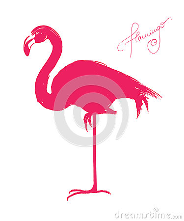 Free Pink Flamingo Stock Image - 27000261