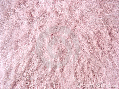 Pink fleecy fabric (angora woolen cloth)