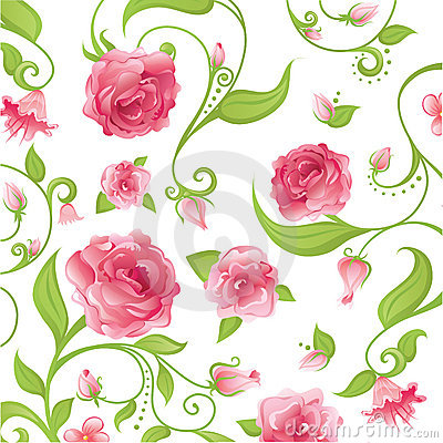 Free Pink Floral Stock Images - 5275174