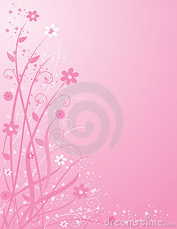 Free Pink Floral Background Royalty Free Stock Photography - 1946847