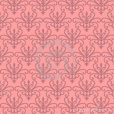 Pink Floral Wallpaper on Pink Floral Patterns  Click Image To Zoom
