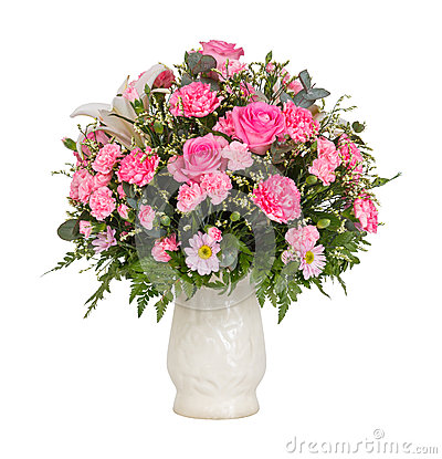 Free Pink Flower Bouquet Stock Photography - 39139682