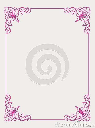 Pink Frame Design