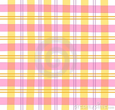 Free Pink Gingham Plaid Stock Images - 534434