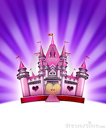 Pink Girl Castle