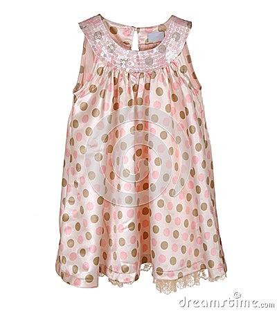 Pink girl s dress