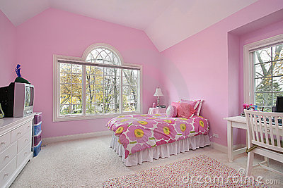 Pink girl s room
