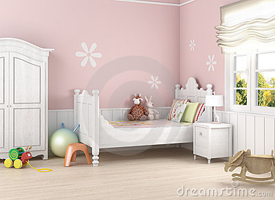 Pink girl´s room