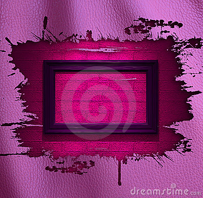 Pink glamour leather background