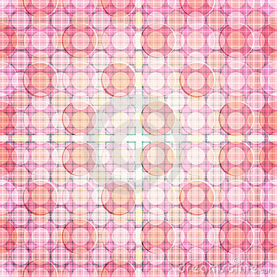 Pink Glare Dot pattern of repeat