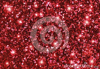 Pink Glitter Stars