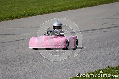 Pink Go Kart