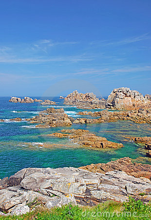 Pink Granite Coast,brittany