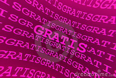 Pink gratis background