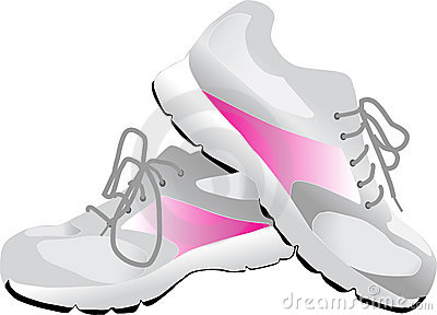 Pink Sneakers Stock Illustrations – 397 Pink Sneakers Stock ...
