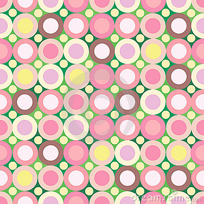 Pink-green seamless background