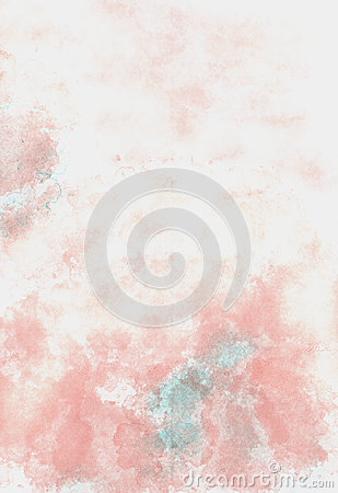 Pink grunge watercolor abstract  background