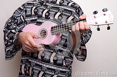 Pink Hawaiian Ukulele Love Song
