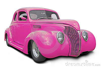 Pink Hot Rod