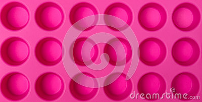 Pink Ice Tray