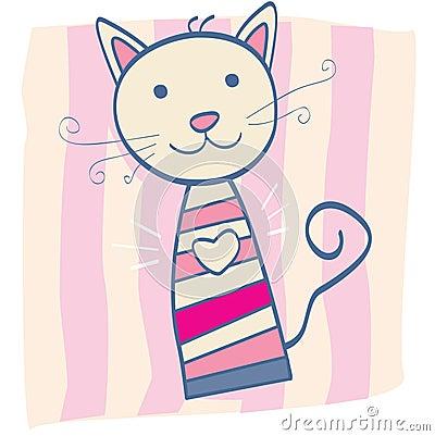 Free Pink Kitten Stock Photo - 9325190